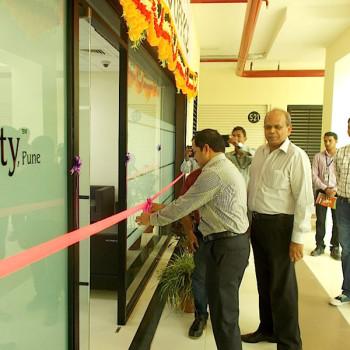 Innauguration of PMS office by Mr.Prasanth Pottekatt PMS Head, alongwith Mr. Satish Magar